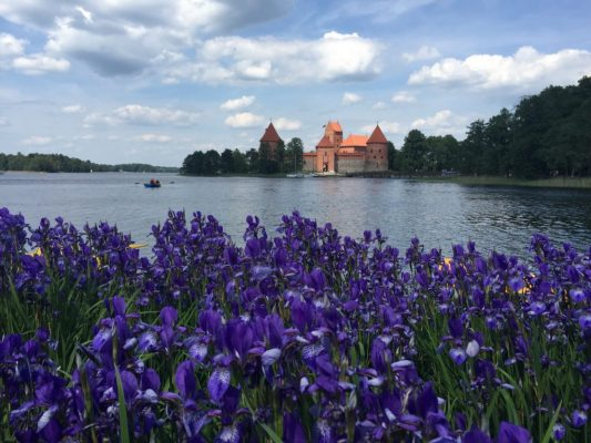 trakai lakes and castle
