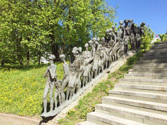 Minsk Yama_memorial_holocaus