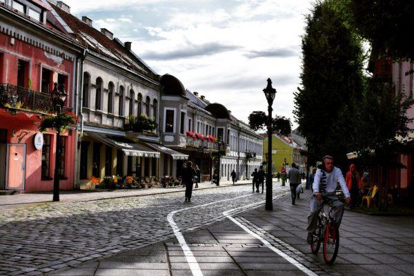 Kaunas Old city Street