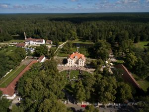 Palmse Manor complex in Lahemmaa National Park in Estonia tours