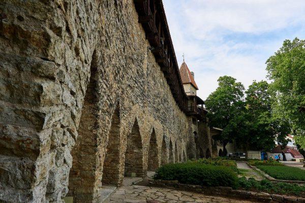 View of Tallinn City walls