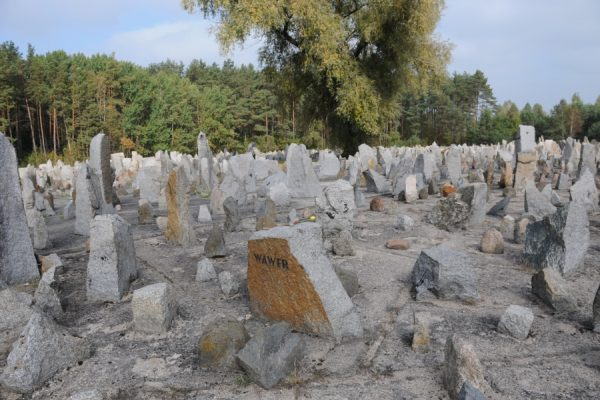 Treblinka, Concentration camp memorial, Poland