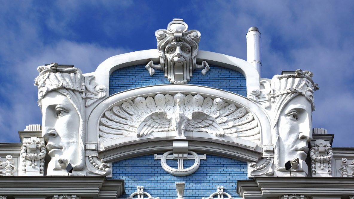 Riga, Art Nouveau Element