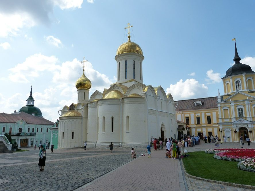 sergiev-posad Moscow and St. Petersburg