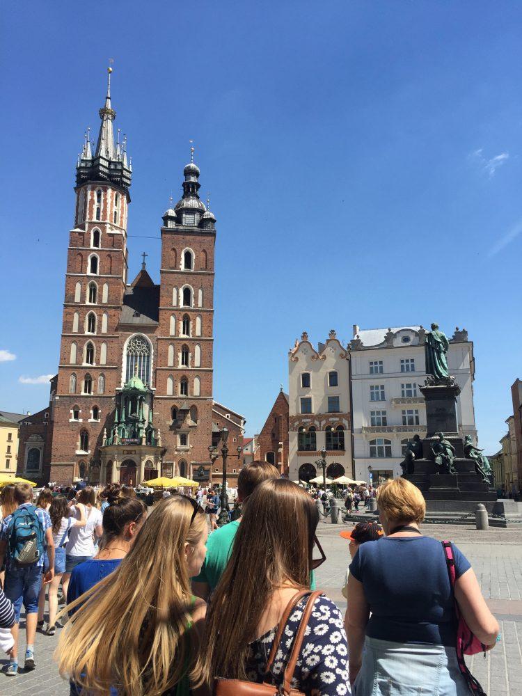 Krakow Old city tour, St Marry church