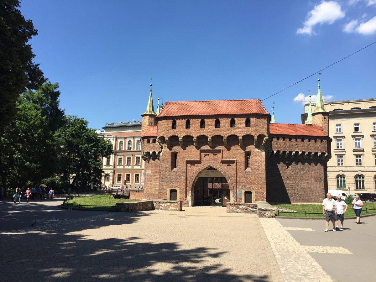 Krakow Barbican fortification