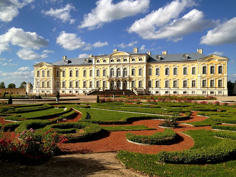 An Excursion to Rundale Palace, The Baltic Versailles