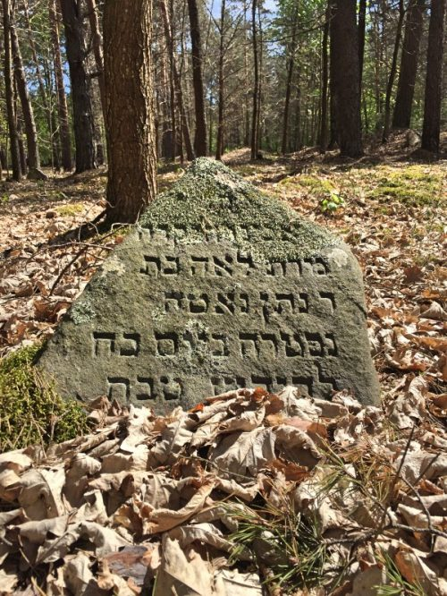 cemetery in Valkininkai