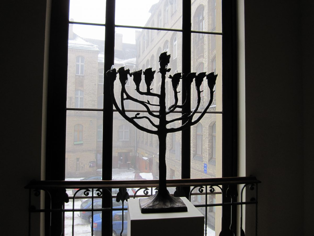 In Wroclaw Synagogue