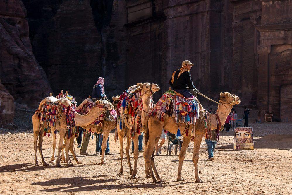 Jordanija - Petra - Kupranugariai