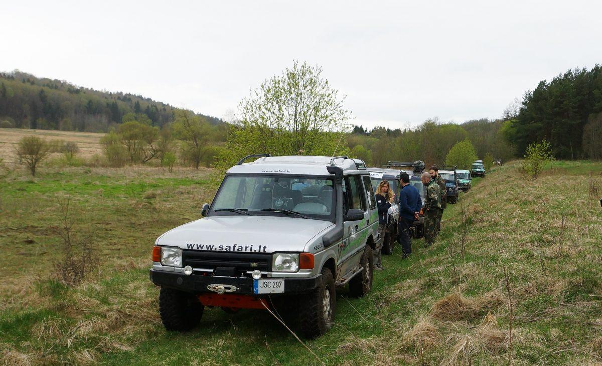 Jeep safari stopover