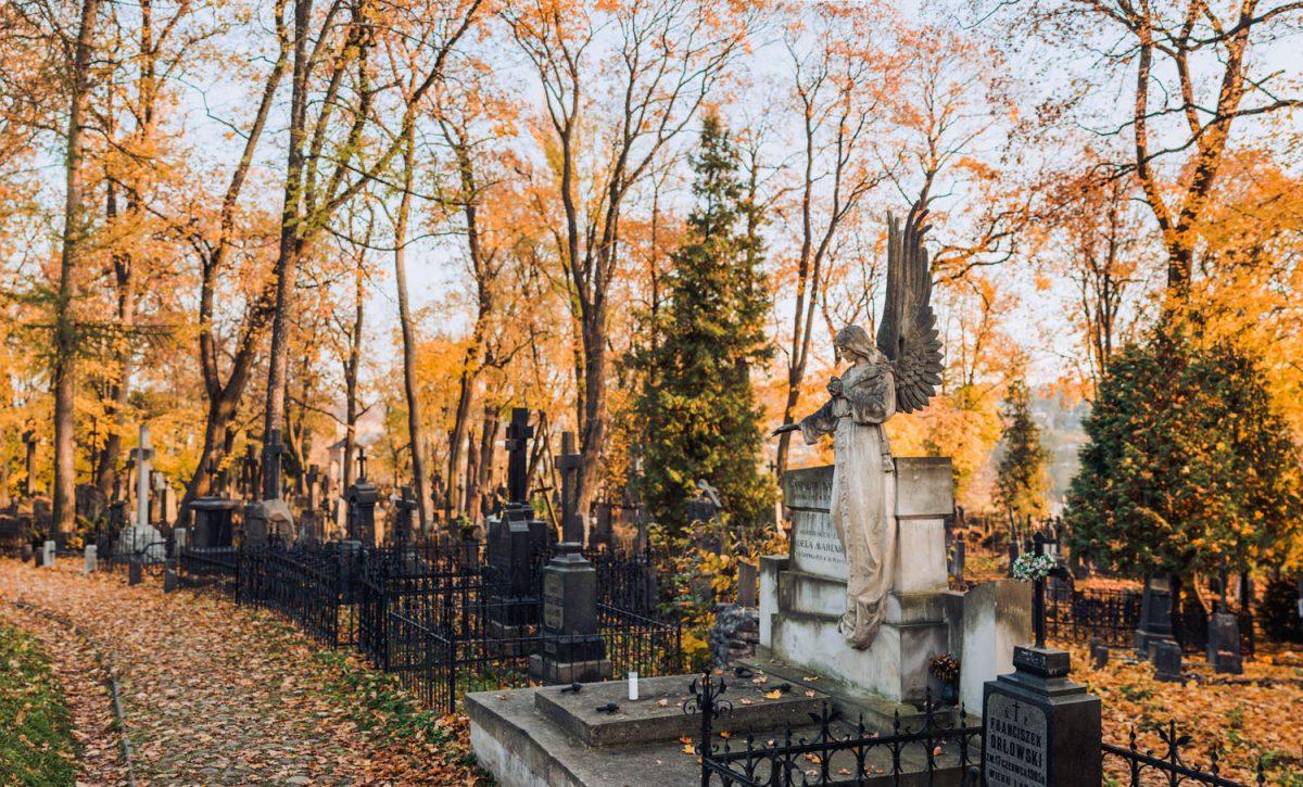 Autumn Bernadine Cemetery