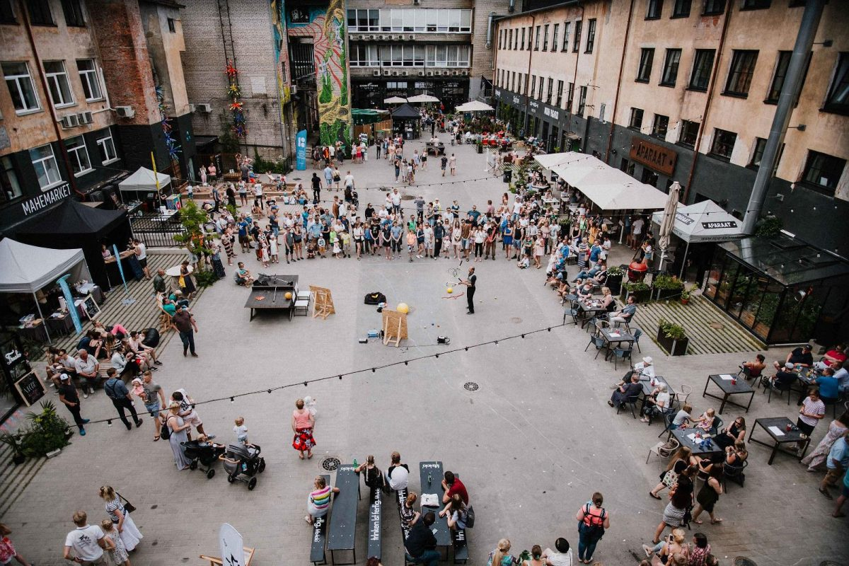 Tartu Street Food Festivalis a major international street food event, which introduces the latest food trends