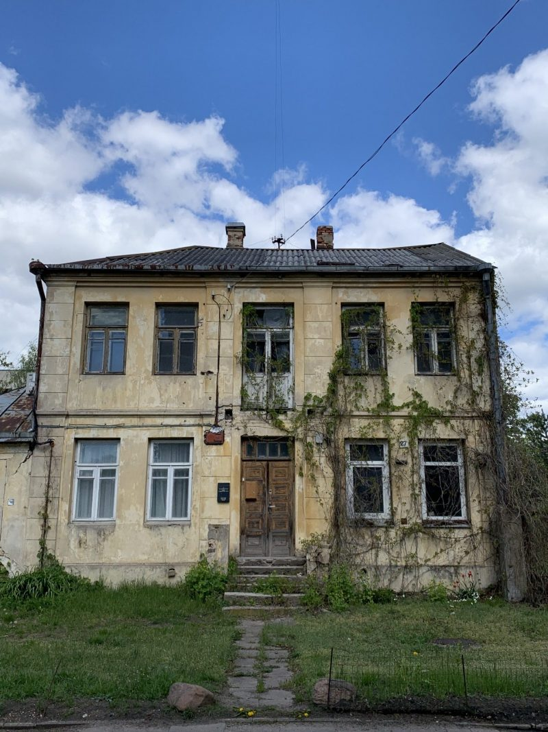 Zverynas houses pictures