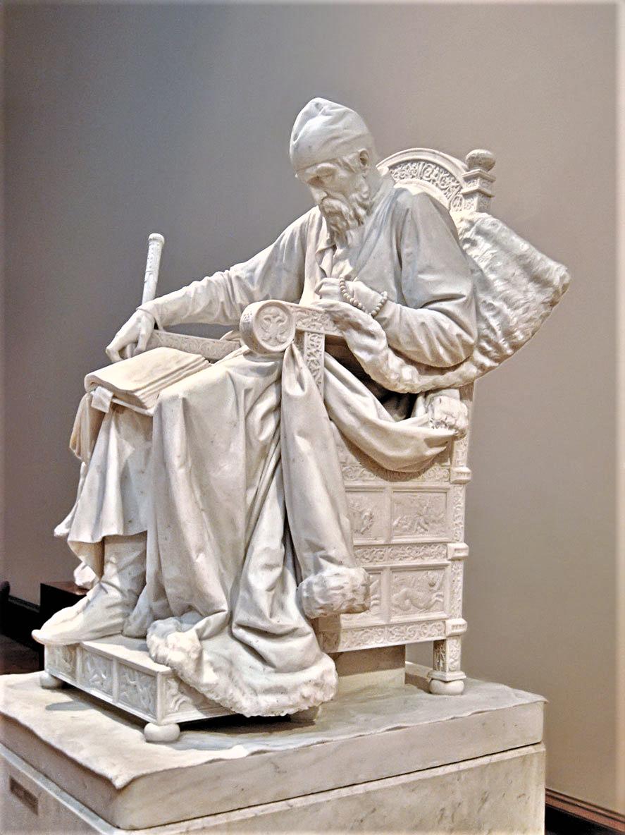 Statue of Ivan the Terrible by Mark Antokolski
